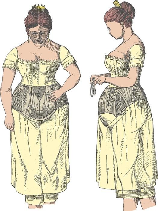 Корсет для беременных.   Фото: artsybeedigital.com.