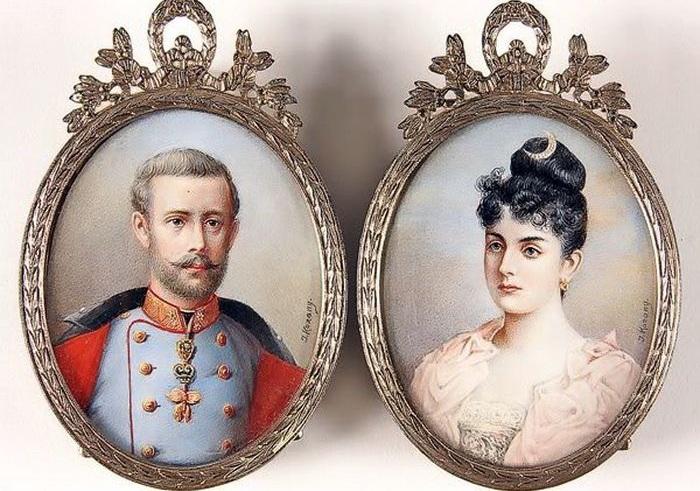 Австрийский кронпринц Рудольф и румынская баронесса Мария Вечера. | Фото: liveinternet.ru.