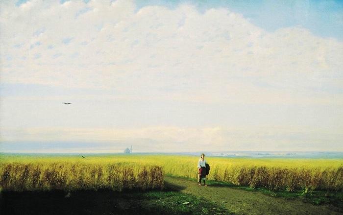 Степь. Архип Куинджи, 1875 год. | Фото:eot-canada.ca.