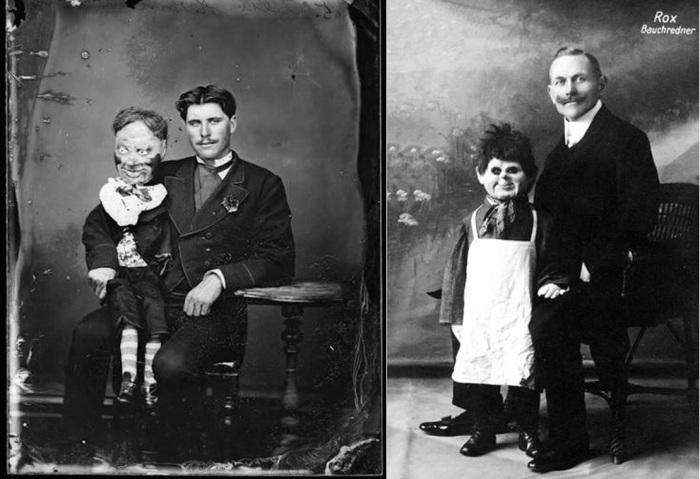Кукольники-чревовещатели -популярные артисты начала ХХ века.