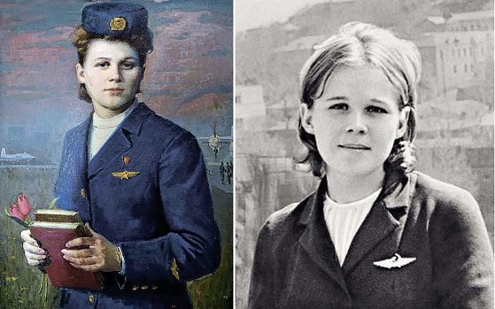 Надежда Курченко - советская бортпроводница, погибшая в схватке с террористами.