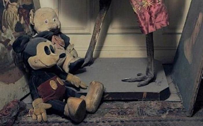 Игрушечный Микки Маус и поросенок Порки. | Фото: marketium.ru.