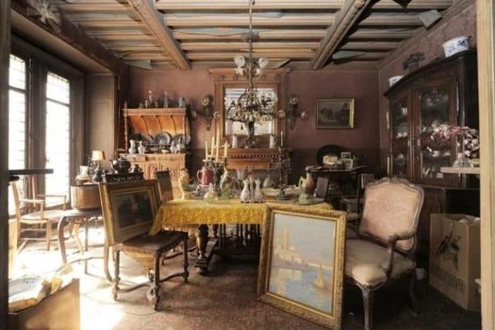 Квартира в Париже, которую не открывали 70 лет. | Фото: subscribe.ru.