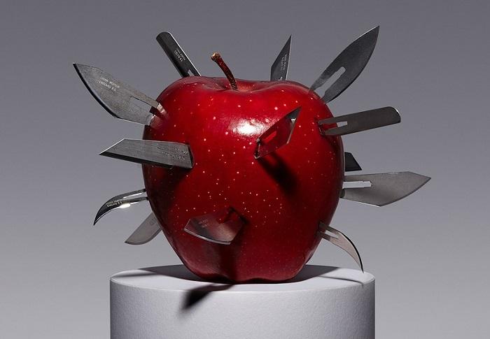 Визуализация дизайнера Кайла Бина «Запретный плод».
