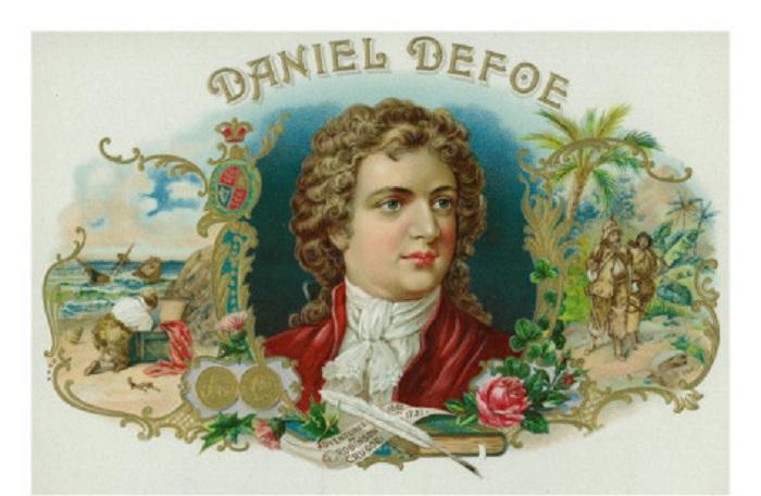 Даниэль Дефо. Открытка. | Фото: imgc.allpostersimages.com.