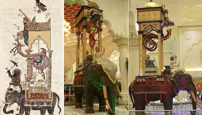 Слоновые часы - чудо инженерной мысли 800-летней давности. | Фото: hevintagenews.com.