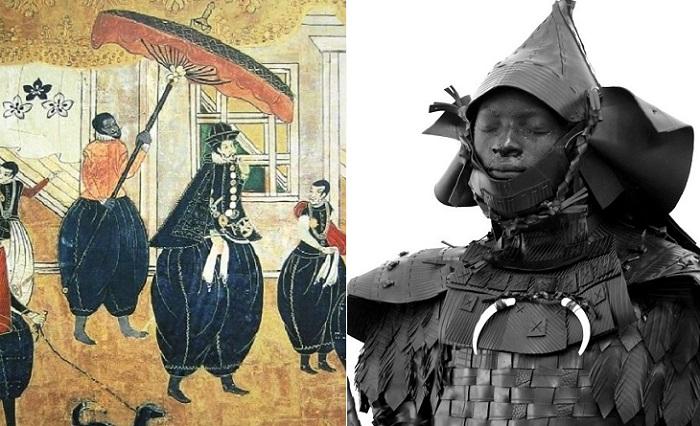 Ясуке - первый темнокожий самурай, живший в конце XVI века.