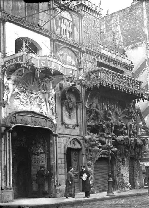 Cabaret de l'Enfer просуществовало до 1950-х годов. | Фото: coolstuffinparis.com.