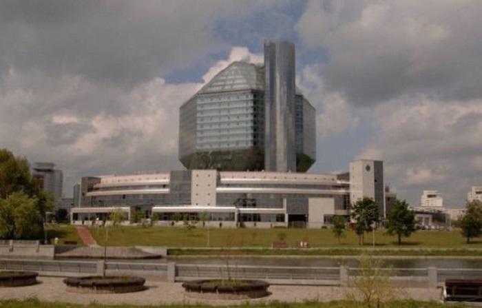 Национальная библиотека Беларуси. | Фото: gizmodo.com.