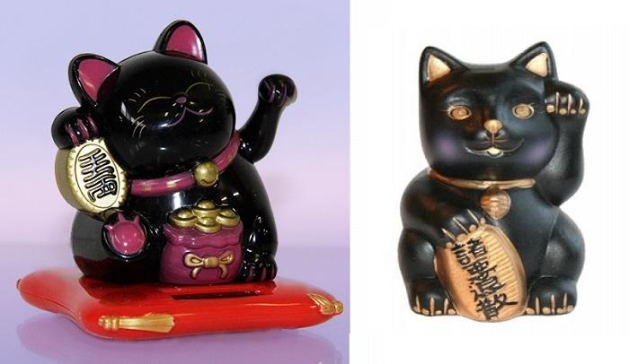 Манеки-неко - статуэтка кошки, приносящая удачу.