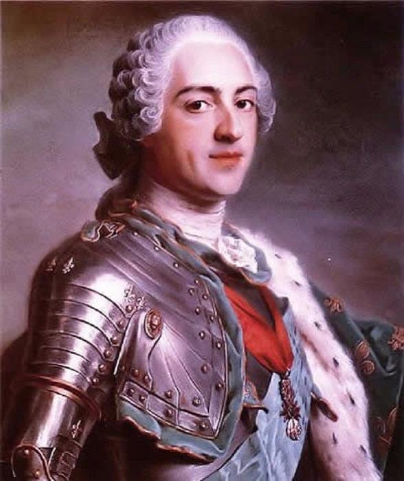 Король Франции Людовик XV. | Фото: img1.liveinternet.ru.