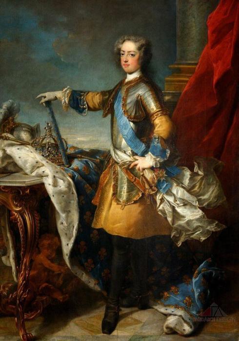 Людовик XV в юности. | Фото: www.redakce-online.cz.