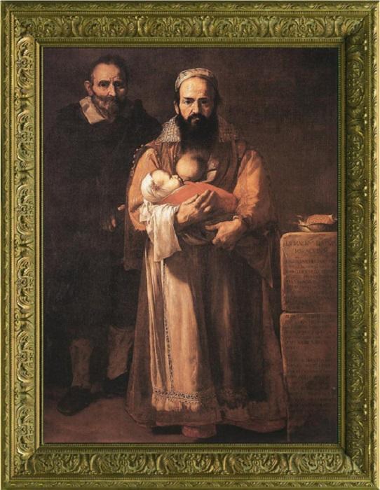 Портрет Магдалены Вентура с мужем и сыном, Хосе де Рибера, 1631 год.| Фото: wtfarthistory.com.