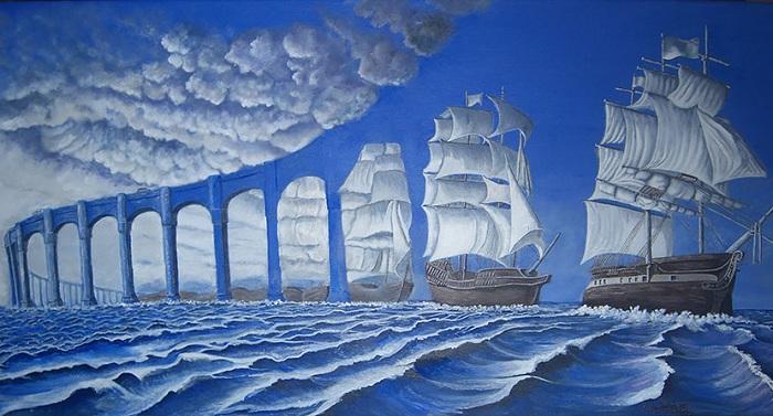 Картина от канадского художника.