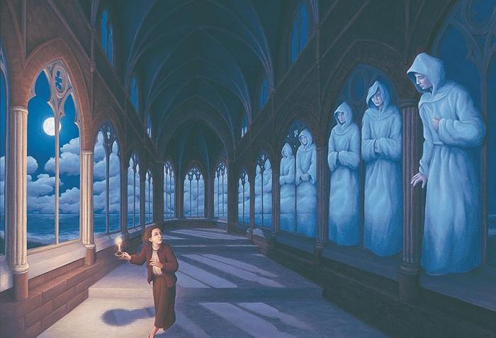 «Магический реализм» в картинах Роберта Гонсалвеса.