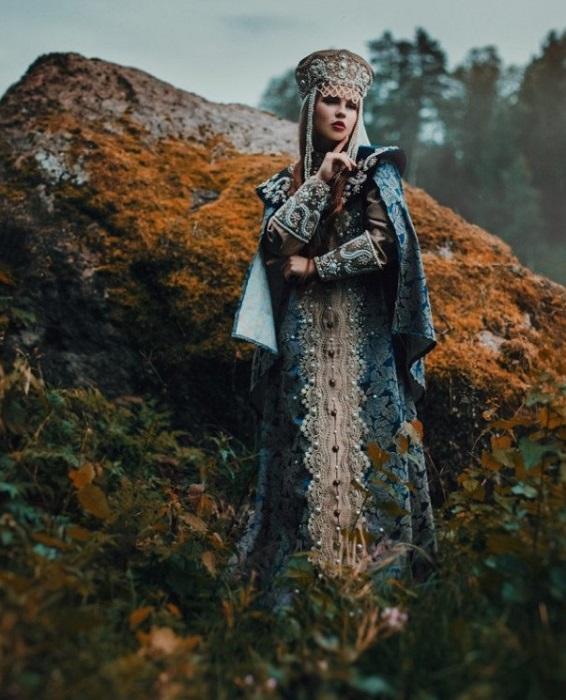 Хозяйка Медной горы. Фото: Настя Никитина. | Фото: m.yucolors.com.