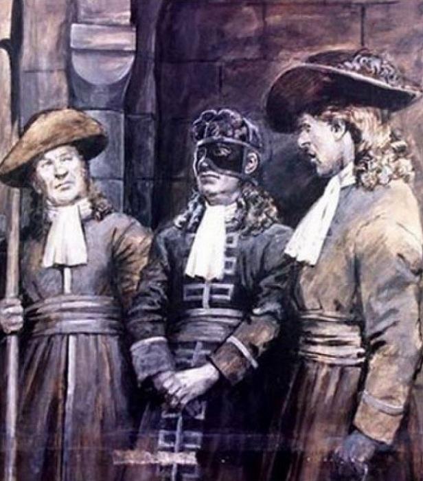 Под маской мог скрываться итальянский авантюрист Эрколь Антонио Маттиоли. | Фото: img.uduba.com.