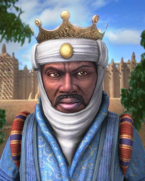 Манса Муса - правитель государства Мали в XIV  веке. | Фото: j-times.ru.