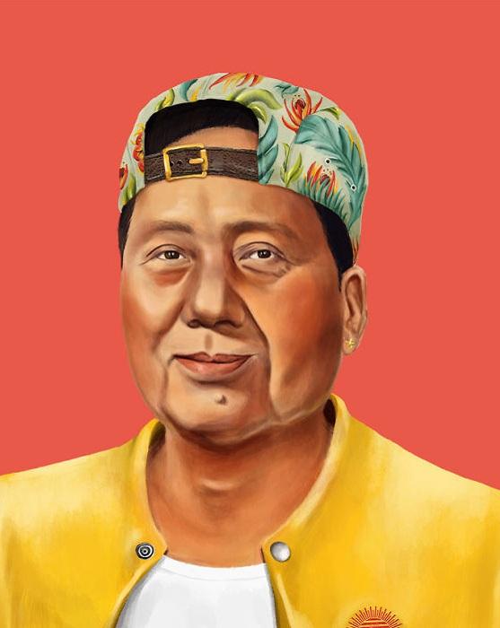 Китайский вождь Мао Дзэдун.
