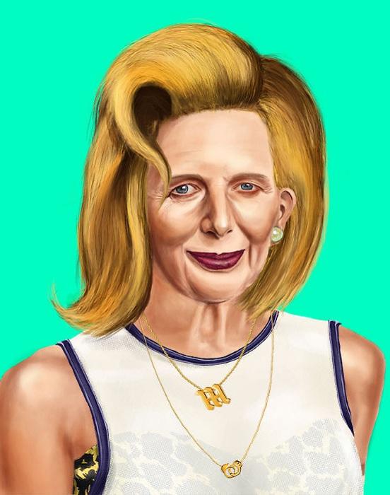 Margaret Thatcher.