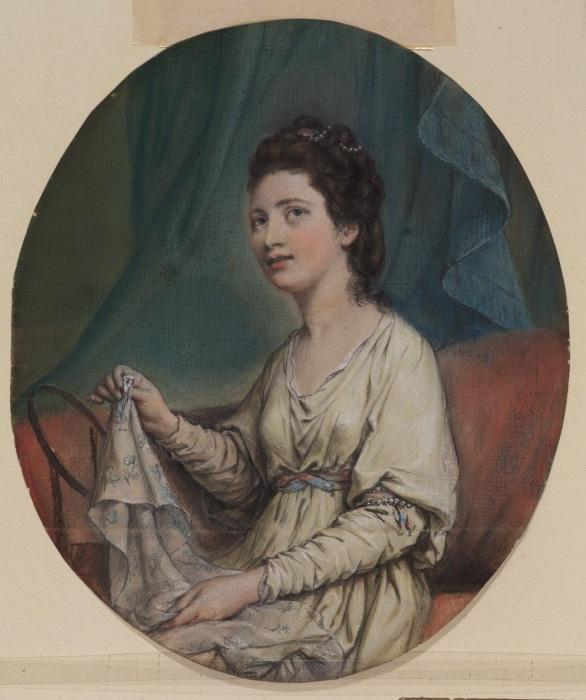Мария Ганнинг, графиня Ковентри. Х. Д. Гамильтон, 1760 год. | Фото: fiveminutehistory.com.