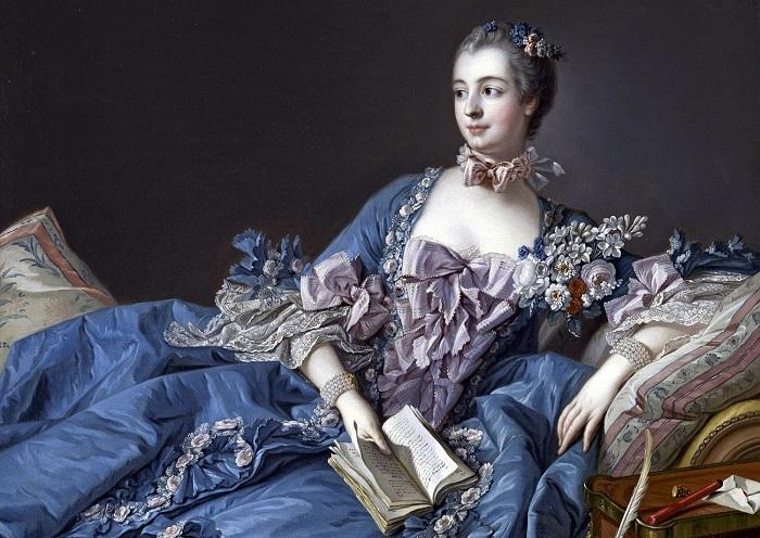 Портрет маркизы Помпадур. Франсуа Буше, 1758 год. | Фото: bt.kiev.ua.