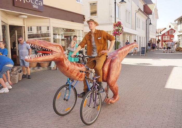 Диноцикл от норвежского изобретателя.
