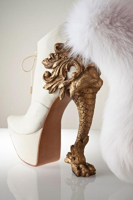 Необычная обувь от Макая Кушино.