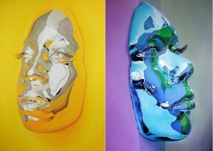 «Diovadiova Chrome» - серия гиперреалистичных портретов.