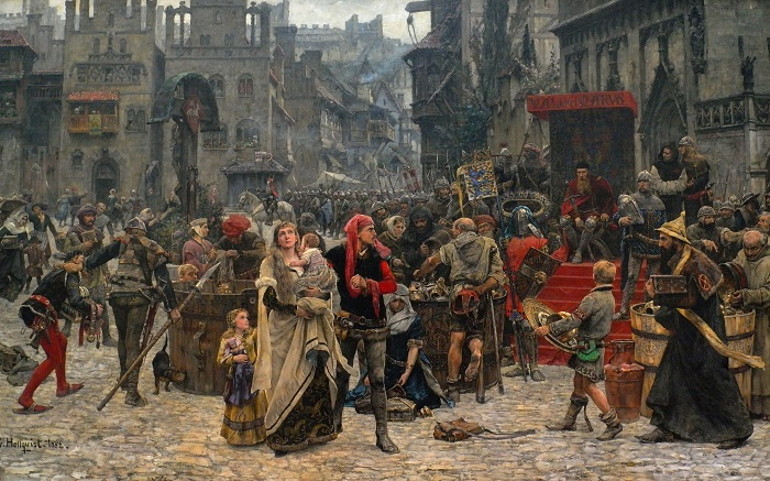 Считается, что в Средневековье люди жили недолго.   Фото: desktopwallpapers.org.ua.