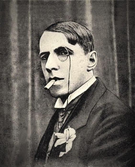 Мейерхольд играет в фильме «Портрет Дориана Грея», 1915 год. | Фото:otzyv.ru.