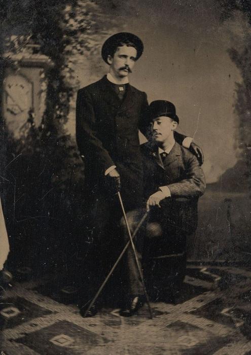 Ретро фотография 1880-е гг. | Фото: mashable.com.