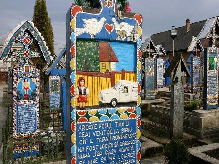 «Веселое кладбище» - румынская достопримечательность для туристов.