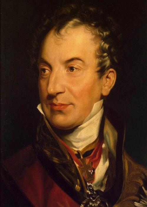 Клеменс фон Меттерних - канцлер Австрии в период с 1821 по 1848 гг. | Фото: wga.hu.