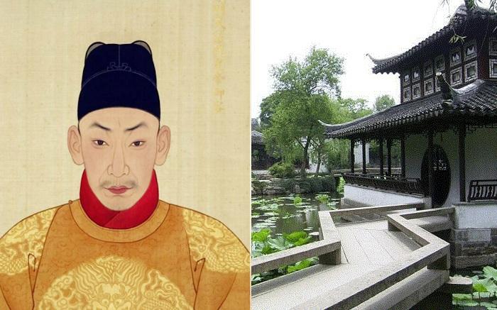 Китайский император Чжэндэ.