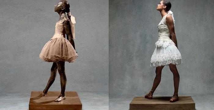 Скульптура «Маленькая 14-летняя танцовщица».
