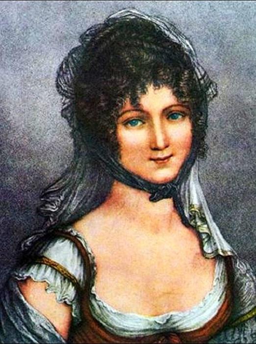 Светская львица Терезия Тальен, которая ввела моду на «нагие» платья. | Фото: blogspot.com.