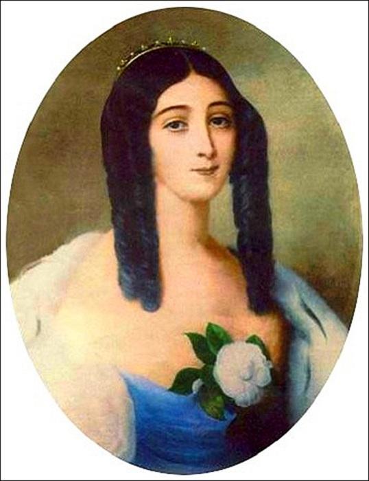 Бледная кожа была очень модной в XIX веке. | Фото: storyfiles.blogspot.com.