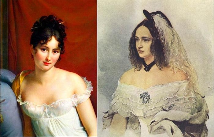 Переменчивая мода XIX века.