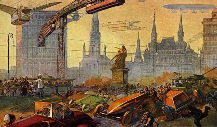 «Москва в будущем». | Фото: little-histories.org.