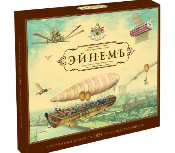 Набор шоколадных конфет с открытками-предсказаниями фабрики «Эйнемъ». | Фото: subscribe.ru.