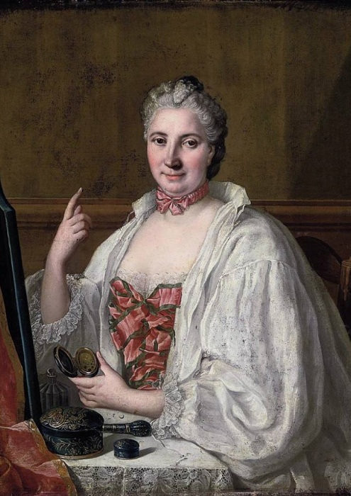 Портрет Anne De Lagrange. Франсуа-Юбер Друэ. | Фото: telegraf.com.ua.