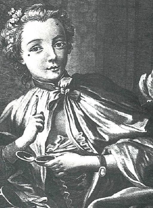 Дама эпохи Людовика XV. | Фото: ru.wikipedia.org.