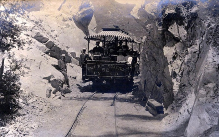 Железная дорога Mt/ Lowe Pailway.