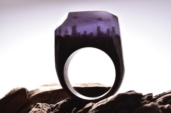 Уникальное кольцо от Secret Wood.