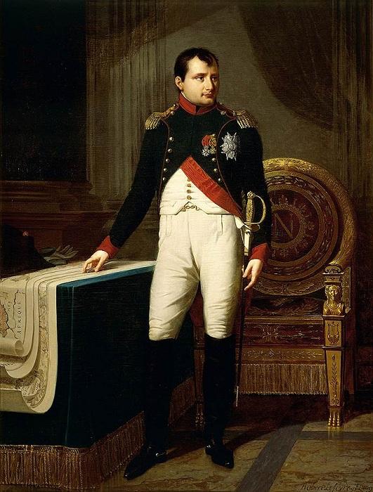 Портрет Наполеона. Робер Лефевр, 1808 год.   Фото: im9.kommersant.ru.