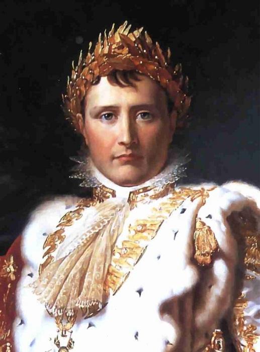Наполеон Бонапарт в лавровом венце. | Фото: bsi-ekb.ru.