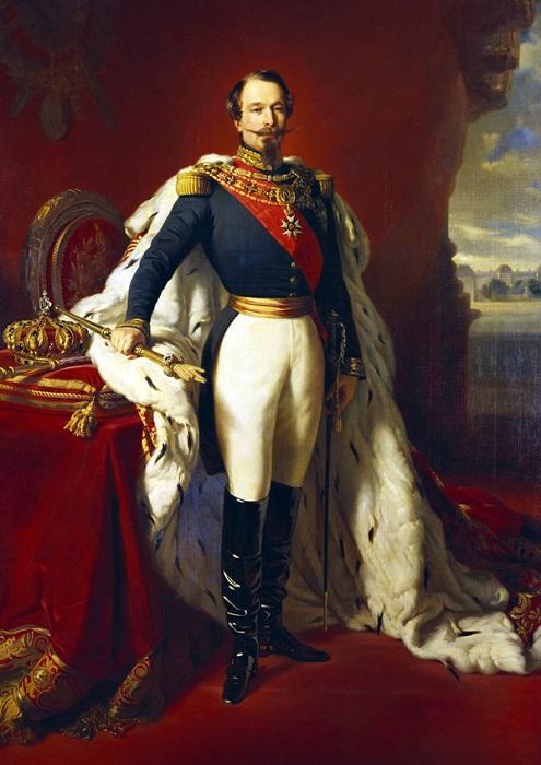 Император Наполеон III. Франц Винтерхальтер. | Фото: cs6.pikabu.ru.