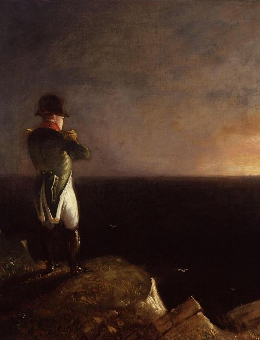 Наполеон на острове Святой Елены. Бенджамин Роберт Хэйдон. | Фото: free-photos.biz.