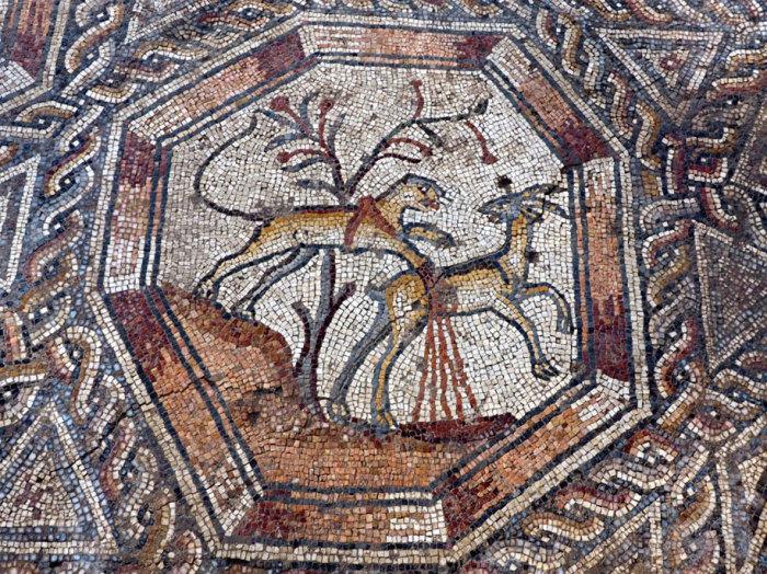 Мозаичный сюжет 300 года н. э.